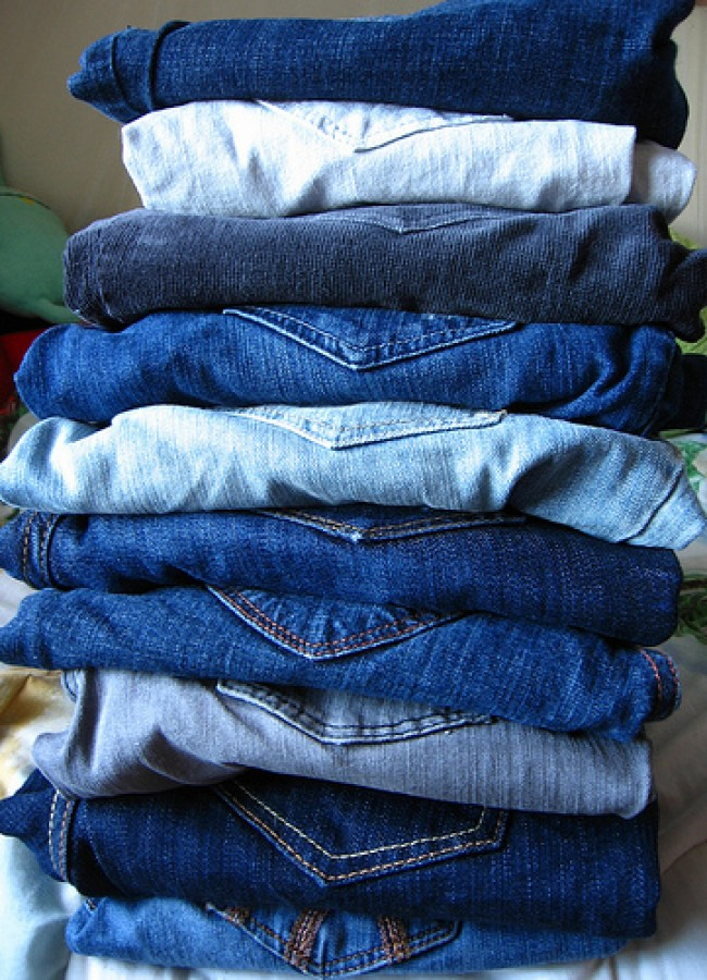 How To Starch Jeans