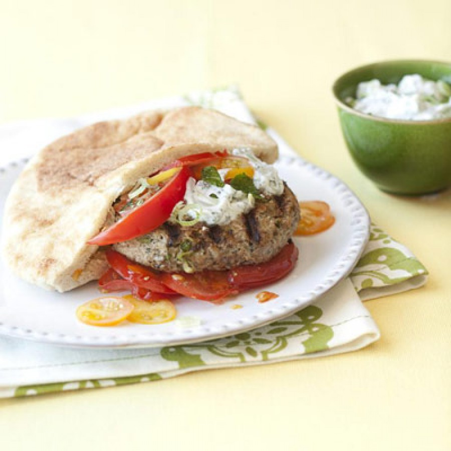 Healthy Makeover: Turkey Burgers