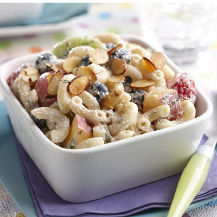 Fruit and Yogurt Elbow Salad