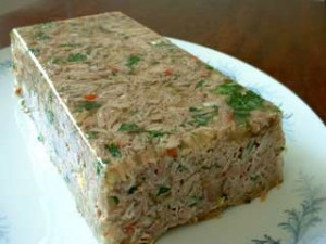 Chilled Turkey Loaf Recipe