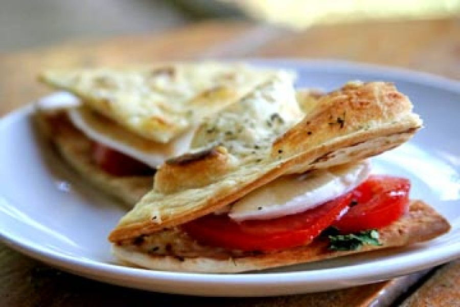 Caprese Mini Sandwiches Recipe