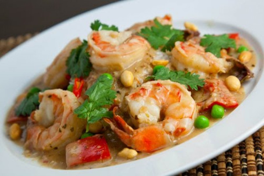 Ocean basket prawns recipe
