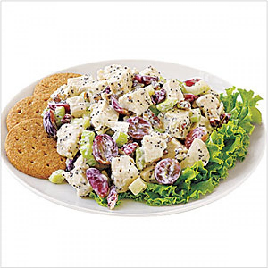 Chicken Salad with Grapes and Pecans