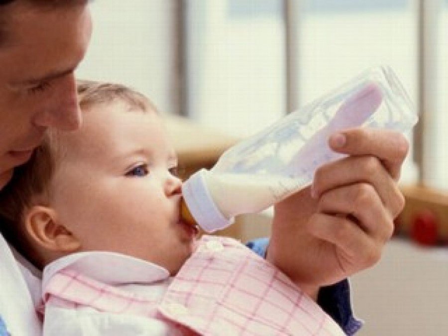 If I need to give my baby formula, how do I start?