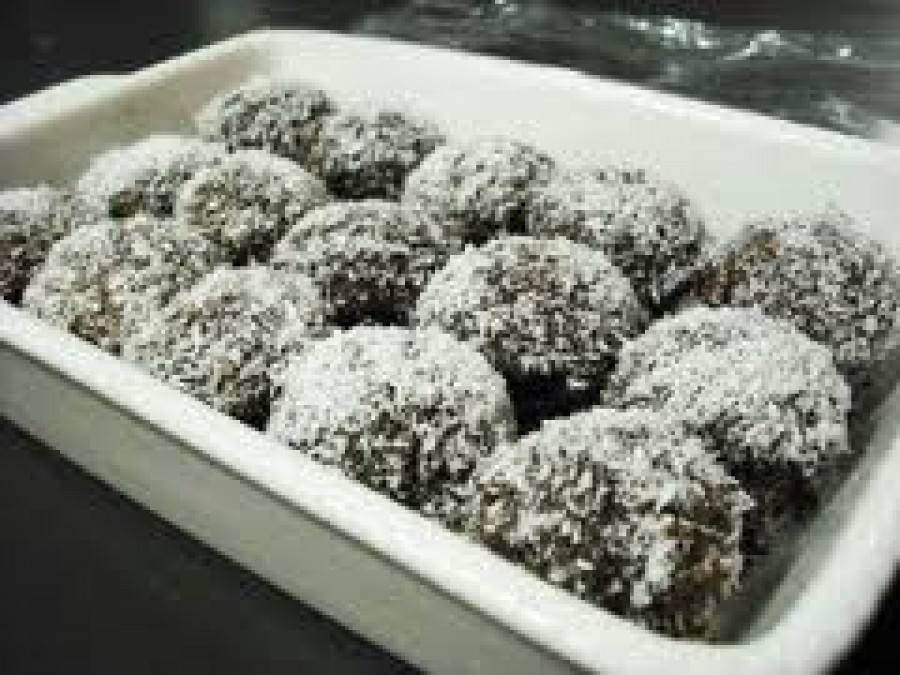 Mini Round Lamingtons