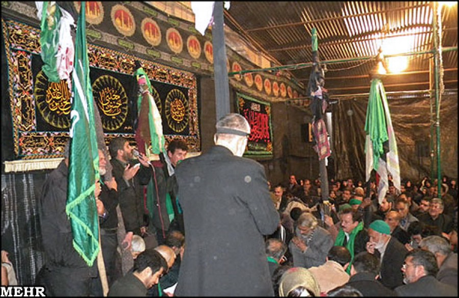 Majlis-e-Aza or the Mourning Congregations