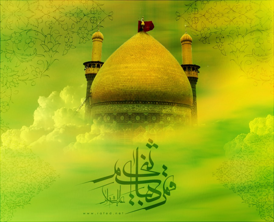 Imam al-Mahdi and Abbas (a.s.)