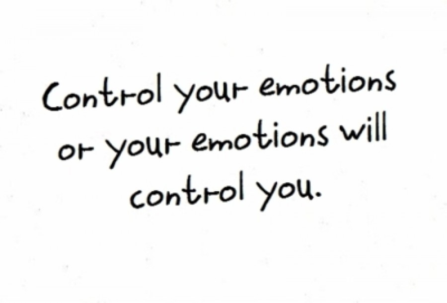 Controlling your Emotions