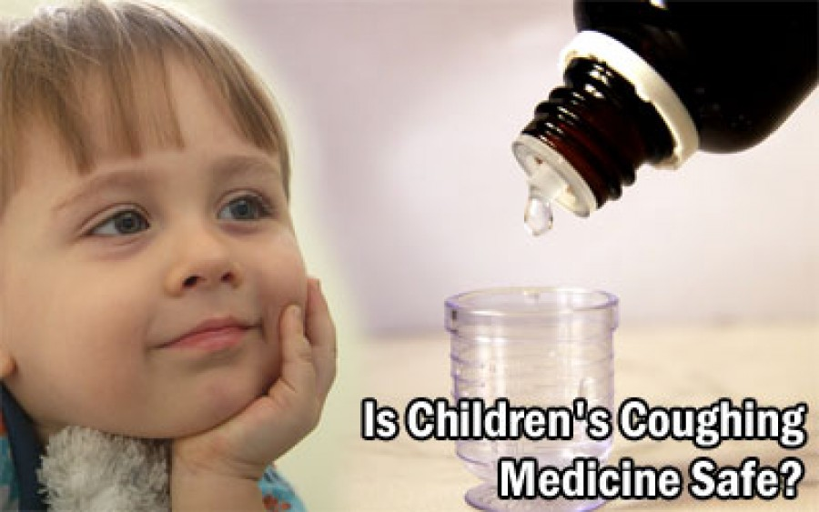 Is children's coughing medicine safe?