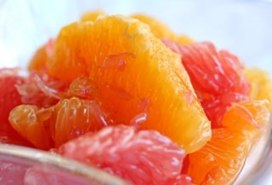 Cardamom Citrus Fruit Salad Recipe