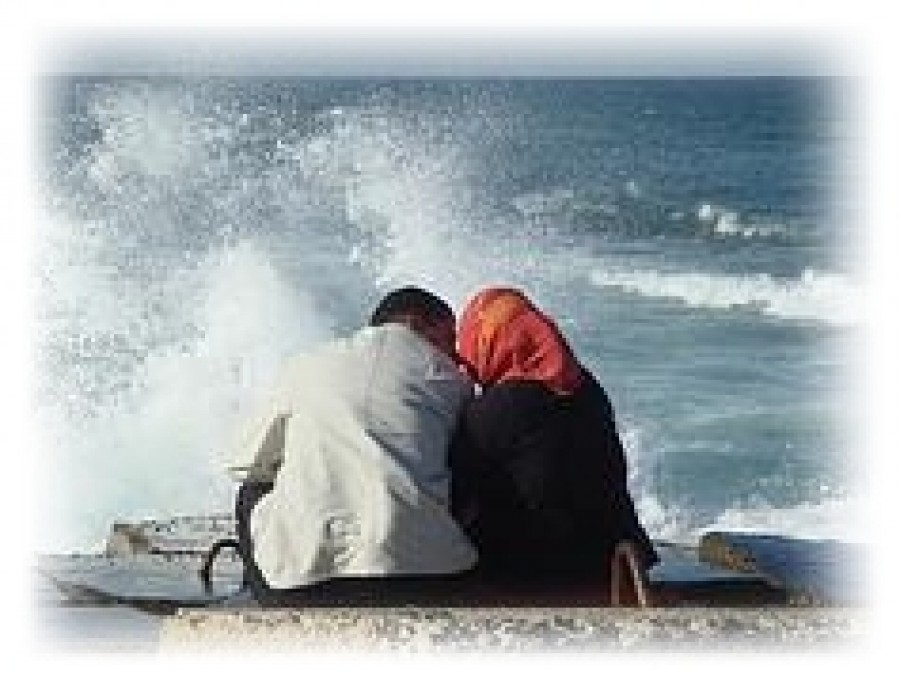 A Pious Man and Wife