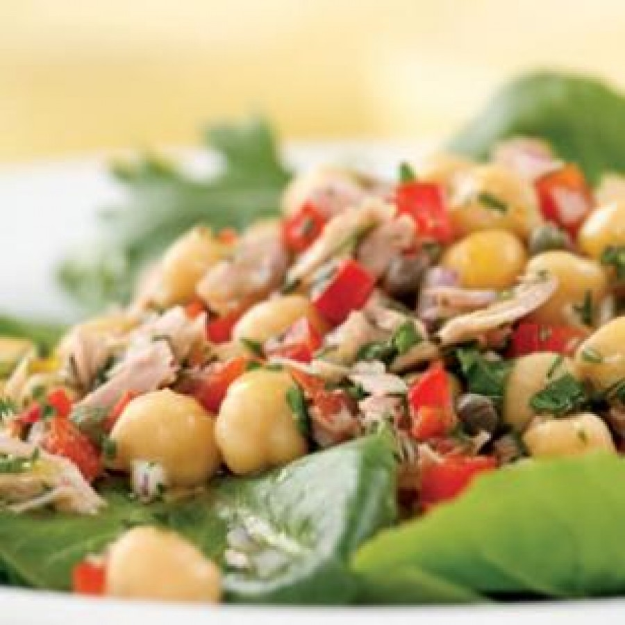 Low Fat Mediterranean Salad