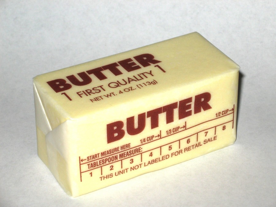 Calories in Butter