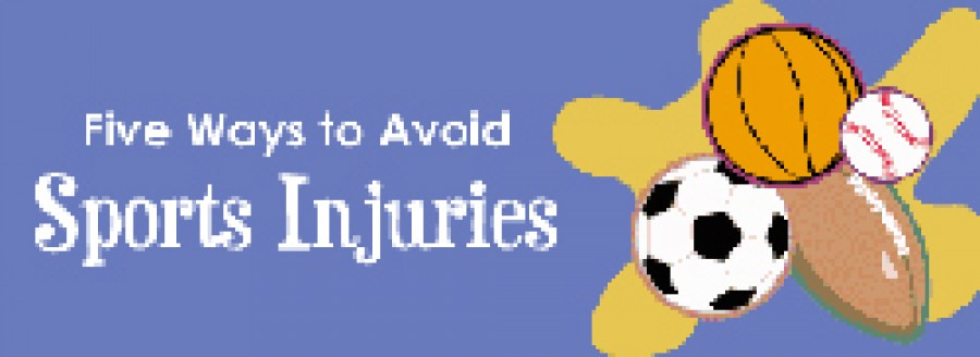 Five Ways to Avoid Sports Injuries?