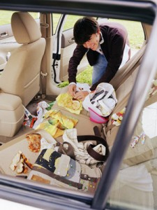 Clean the Inside of a Car — Fast