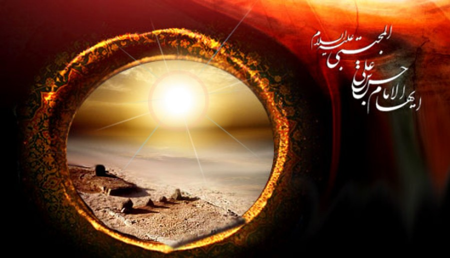Imam Hassan (a.s.) fighting the unjust