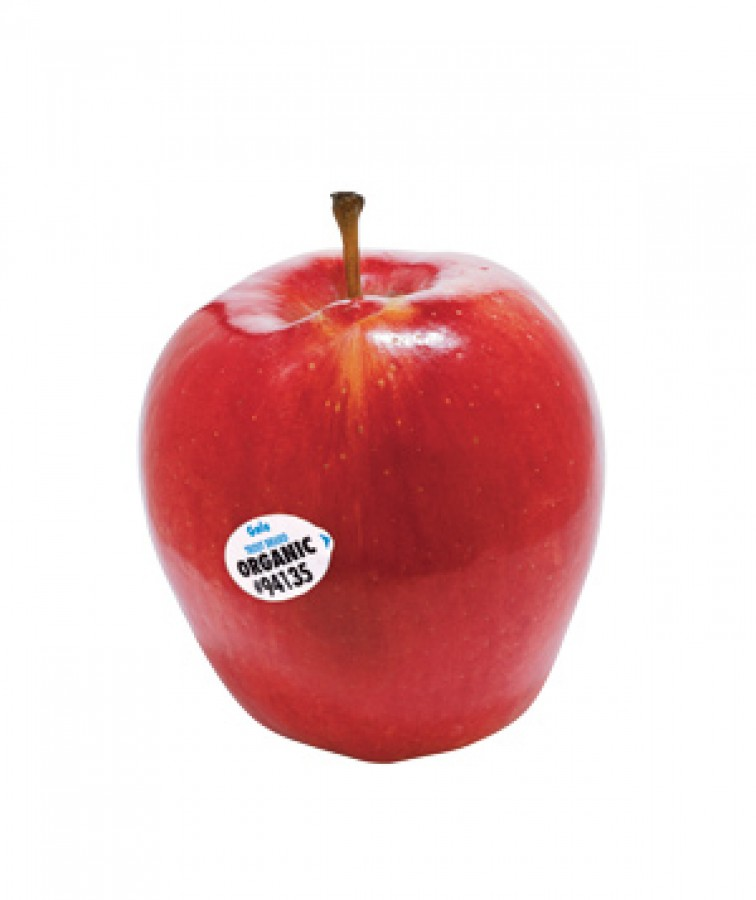 How organic apples impact the health food