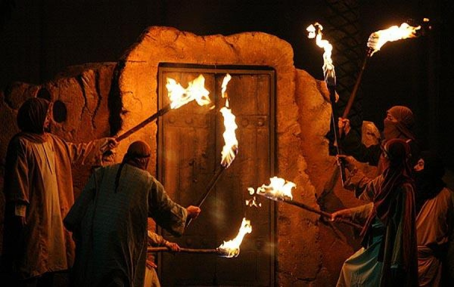 Burning the House of Hadrat Fatima Zahra (A.S.)