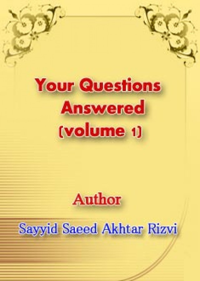 Your Questions Answered (volume 1)