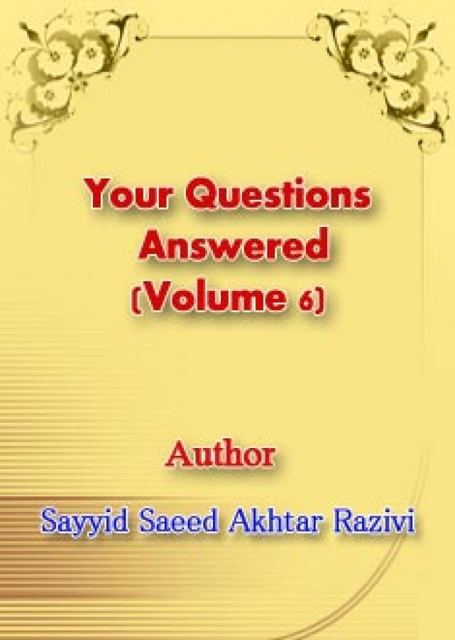 Your Questions Answered (Volume 6)