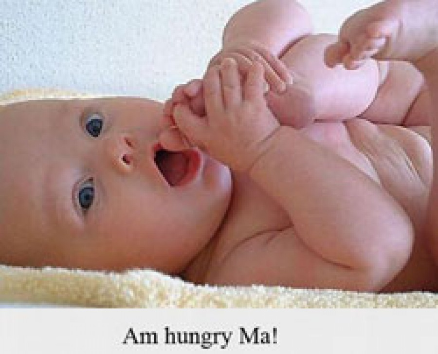 How to Know When Your Baby Is Hungry ?