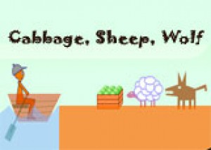 Cabbage, Sheep, Wolf
