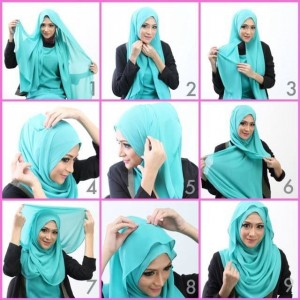New and Cool Hijab Styles