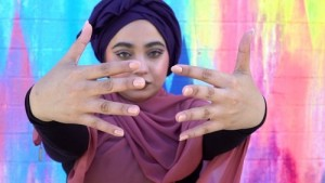 Nail polish and Muslim women